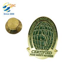 Direkter Verkauf Metall Benutzerdefinierte Abzeichen Revers Pin Günstige Souvenir