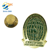 Direct Sell Metal Custom Badge Lapel Pin Cheap Souvenir