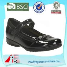 Sapato dainty cómico da escola do miúdo para meninas