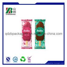 Food Grade Back Seal Ice Popsicle Creme Verpackung Taschen