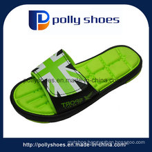 China High Quality Fabric Upper EVA Slide Men Sandals Slipper Factory