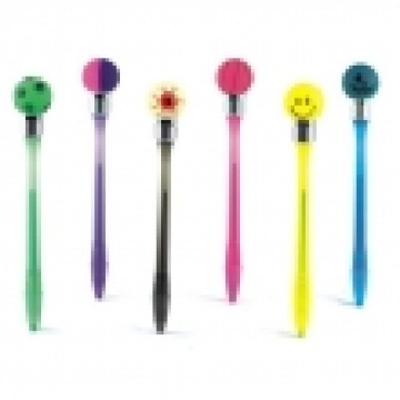 Bump Pen - Ball Shape (2 Color In 1)