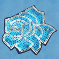 Beautiful Flower Design Sequin Embroidery Patches