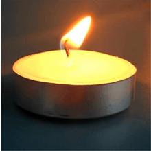 Teelicht-Kerze-Plastiktasche 50pcs / box 9hrs Brenndauer