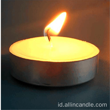 Tealight Candle Plastic Bag 50pcs / box 9 jam waktu pembakaran