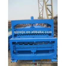 QJ Corrugated Dachblech-Rolle, die Maschine herstellt