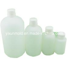 Molde plástico de botellas de reactivo químico