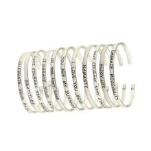 Bracelet en acier inoxydable Bijoux à la mode Bracelet d'amitié