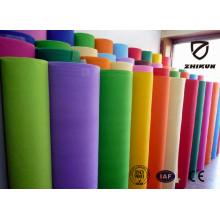 Farbe PP Spunbond Materail Vliesstoff für Einkaufstaschen