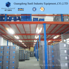 Multi Tier Einstellbare Mezzanine Rack mit 500 kg für Warehouse Storage