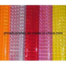 Reflektierende PVC-Platten, mikroprismatische Platten, reflektierende Materialien