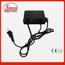 12V1a Waterproof Outdoor Black AC DC Adapter Power Supply with 2 Year Warranty
