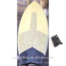 Nouvellement utilisé la planche de surf de bambou de planche de surf de bambou de conception de la saison spéciale ~~!