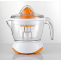 Orange cold press metal manual slow juicer