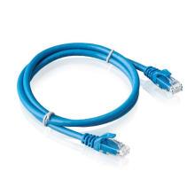 Red de cableado CAT6 de cable de conexión sin blindaje