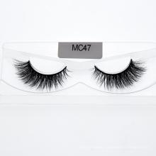 Wholesale Eye Lashes 3D 5D Strip Mink Eyelashes with Eyelash Customized Package