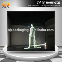 3D holographic transparent vedio projection foil for new product launch