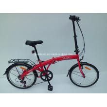 "Bicicleta plegable con marco de acero de 20 ""(FD20)"