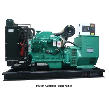 100KW low price Cummins diesel generator set