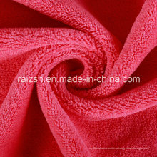 Multicolor Поставка полиэфирных одеяние ткани Деформация коралловых рун