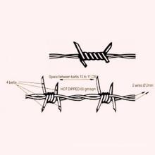Single Strand Galvanized Barbed Wire