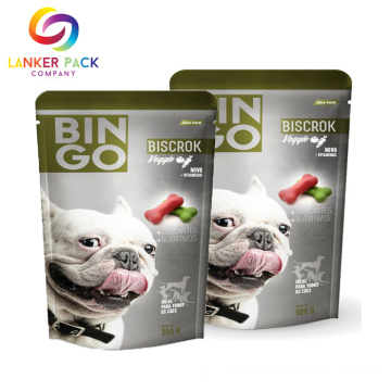 Fitur Khusus Resealable Stand Up Zipper Packaging Bags