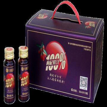 100% fresh Goji Juice Beverage