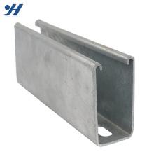 Mild Stainless Steel strut gb standard steel c channel prices
