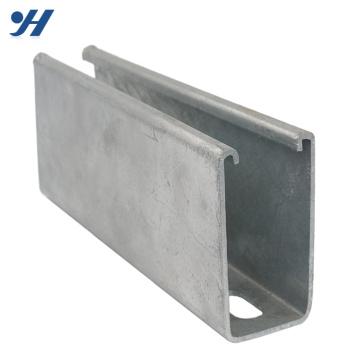 Aço Inoxidável suave strut gb padrão de aço c preços do canal