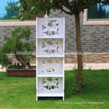 Mobiliário doméstico personalizado estante de armazenamento barato à prova d'água