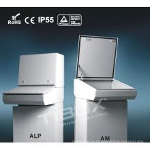 Mesa de controle revestida de zinco de aço inoxidável Alp / Am Cold