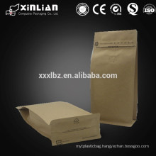 Accept Custom Order and Gift Industrial Use zipper kraft paper bag with window