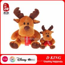 Brinquedos relativos à promoção enchidos luxuoso da rena