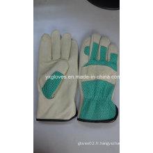Gant en cuir-Gant de travail-Gants-Gants de sécurité
