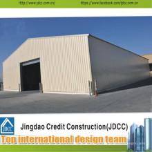 Garagem de aço de boa qualidade e peso leve