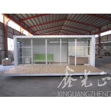 De bajo costo y Luxry casa contenedor con Fast Buingding (SZM521)