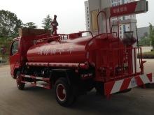 Dongfeng 4 x 2 पानी टैंक आग ट्रक