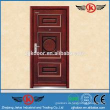 JK-A9005 fuerte interior de madera con aislamiento acústico puerta blindada de acero