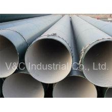 Tuyau d'acier anti-corrosion de revêtement de mortier de ciment