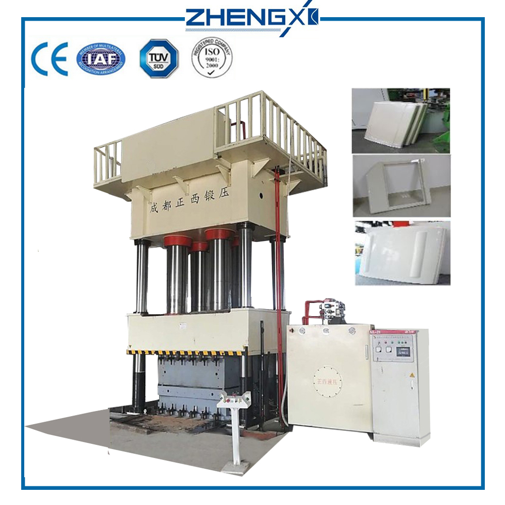 Glass Mat Thermoplastics GMT Hydraulic Press Machine 500T