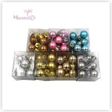 12PCS Dia. Bola do Natal do ornamento da decoração de 2cm Xmas