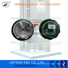 JFOtis Elevator Vandal Resistant Push Button (Unpolished Green)