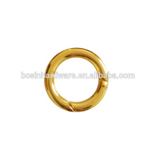 Wholesale Good Quality Round Ring Gold Spring Ring