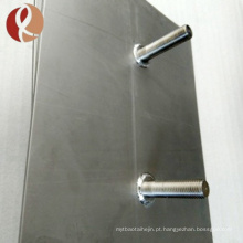 Preço Titanium revestido da ânodo do eléctrodo do grau 2 da platina
