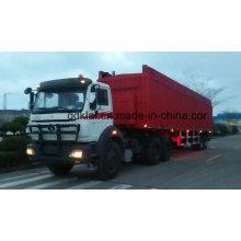 La tête de camion de tracteur de Beiben de camions de la Chine avec le semi-remorque pour l'Afrique