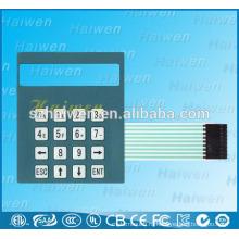 Панель мембранного переключателя OEM с поли-купольными клавишами