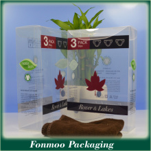 Elegant and Attrative Clear Plastic Box for Display