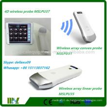 4D drahtloser Blasenscanner Protable Blasenscanner Ultraschallarbeit mit iphone / ipad / orriod MSLPU37A