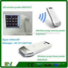 4D Wireless Bladder Scanner Protable bladder scanner ultrasound work with iphone/ipad/andriod MSLPU37A