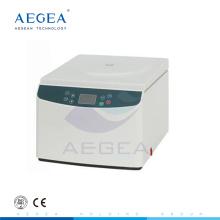 AG-D0037 Low-Noise High-Speed-Hämatokrit Desktop elektrischen medizinischen Labor Zentrifuge Preis